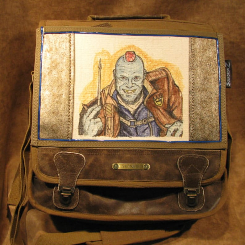 Yondu from Guardian of the Galaxy Original Artwork Lighted image 0