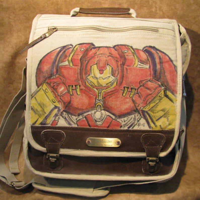 Hulkbuster of Marvel Comics Original Artwork by Sean Iredale image 0