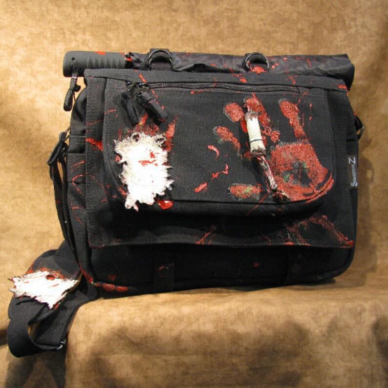 Walking Dead Zombie Encounter Classy Canvas Briefcase 10114-1 image 0