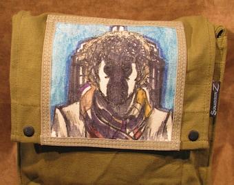 Dr Who Original Artwork Shoulder Satchel Bag 10515-9