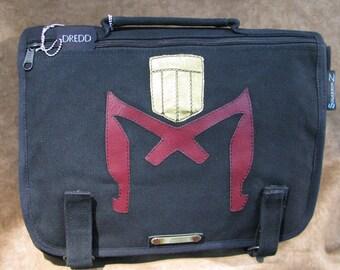 Judge Dredd Canvas Shoulder Messenger bag 110214-2