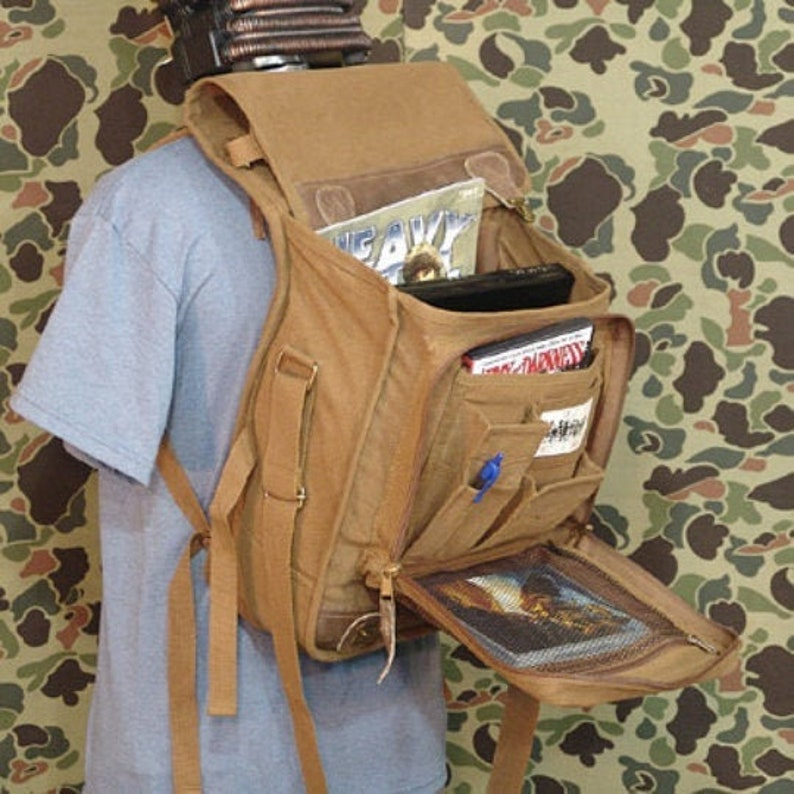 Classic Euro-Style Messenger Bag image 0