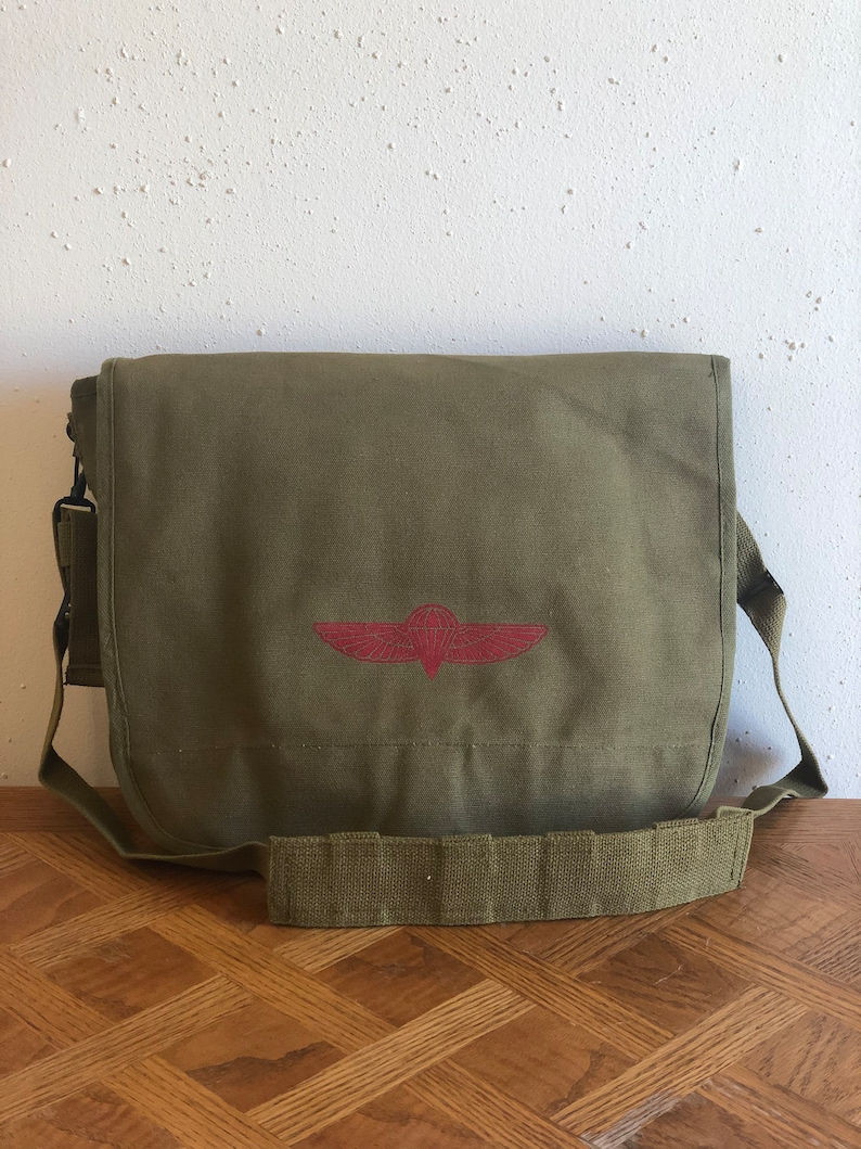 Israeli Paratrooper Bag image 0