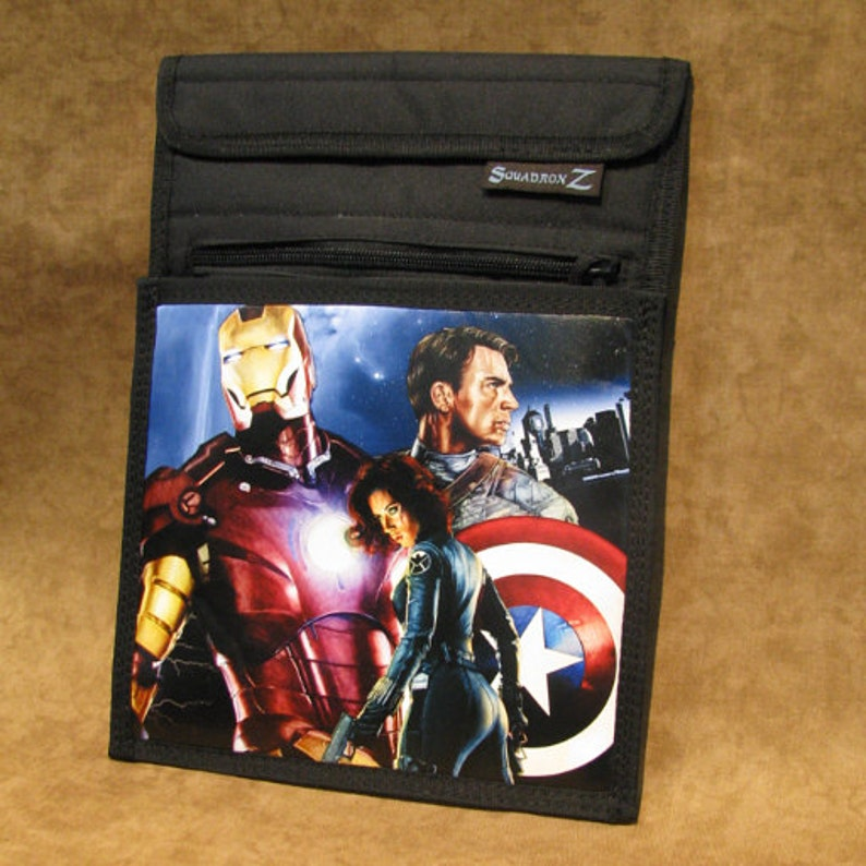 Avengers Limited Edition Print on Tactical Tablet image 0