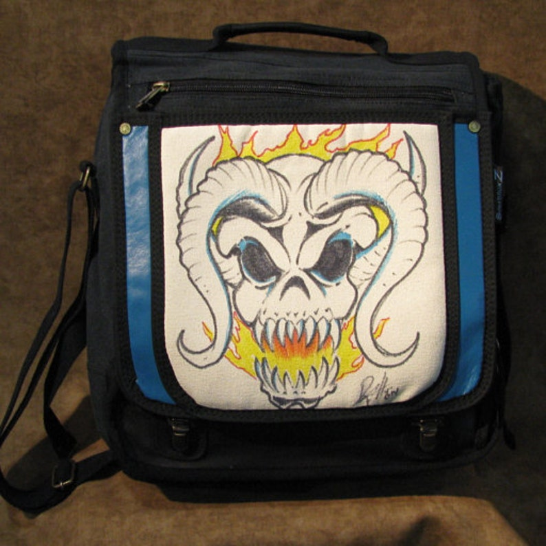 The Devil Beast by David Wong Original Artwork Handpainted image 0