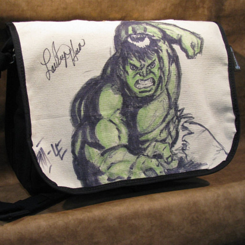 Lou Ferrigno Autographed The Hulk Original Artwork image 0