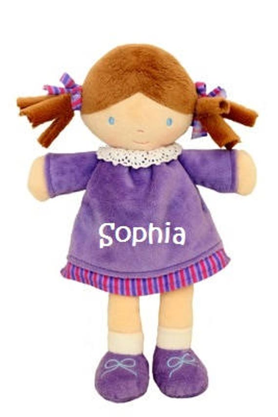 Rag Doll, Personalised, Embroidered Gift, Personalised Doll, Rag Doll Gift, Rag Doll Toy, Personalised Gift, Soft Doll, Rag Doll Girl, Dolly