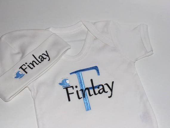 Personalised, Baby clothes, Embroidered, Baby clothing, Personalised clothes, Baby Vest, Baby Hat, Personalised Gift, New Baby Clothes,