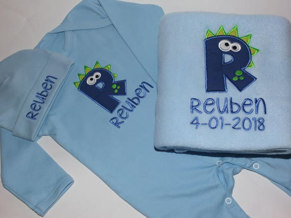 Personalised, Baby Clothes, Baby Boy Clothes, Baby Boy Gifts, Baby Clothing, Baby Blankets, Baby Gifts, Baby Name on Blanket, Embroidered