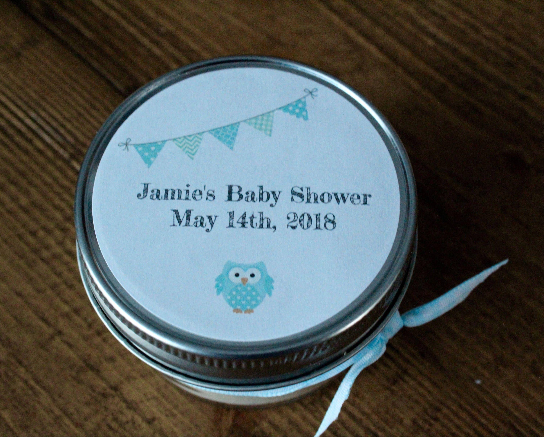 Baby shower, boy baby shower favors, boy baby shower,blue baby shower,baby  boy shower,owl baby shower,blue owl baby ...