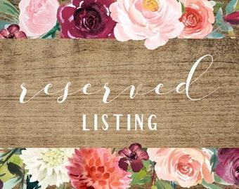 Custom listing for Karen, 5 additional rose soaps