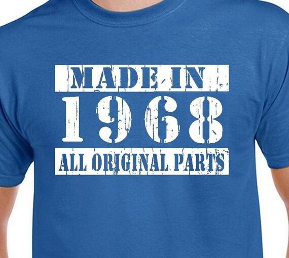 Extreem Items op Etsy die op 50e verjaardag cadeau voor mannen T Shirt #OV53