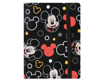 Kindle Paperwhite Case, Kindle Case, Kindle Paperwhite Cover Book, Kindle Cover Hardcover, Ready to Ship, Disney Mickey Mouse Black Red