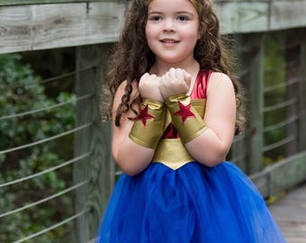 Child WonderWoman Costume.. Wonder Woman.. Wonder Woman Tutu  sc 1 st  Etsy & Wonder woman costume | Etsy