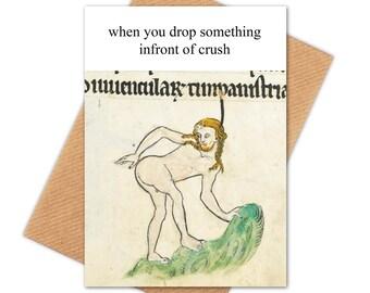 Crush Card Etsy