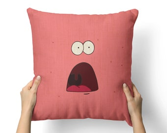 sponge bob pillow etsy