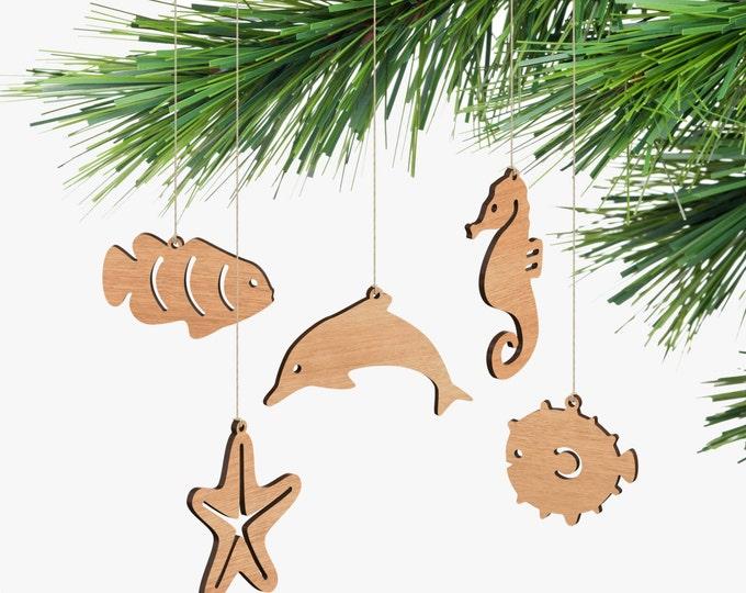 Australian Sea Life Ornaments - Box Set
