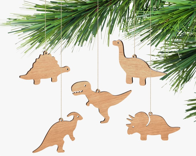 Dinosaur Ornaments - Box Set