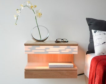 Floating Night Stand Etsy