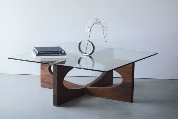 Wooden Coffee Table Sofa Table Coffee Table Wood Coffee Etsy