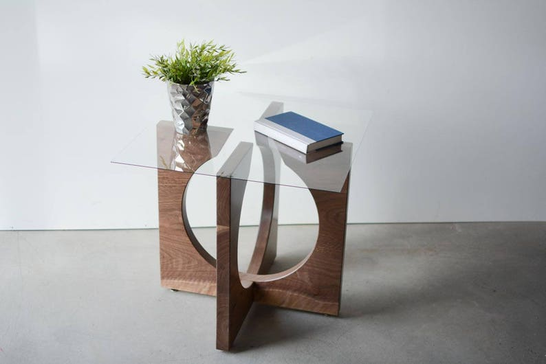 Modern End Table Contemporary End Table Side Table Modern   Etsy