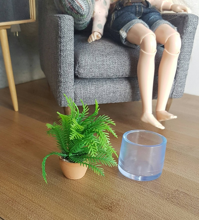 16 scale  1:6 onesixth bjd blythe pullip barbie miniature plants Doll house decorating accessories One plants