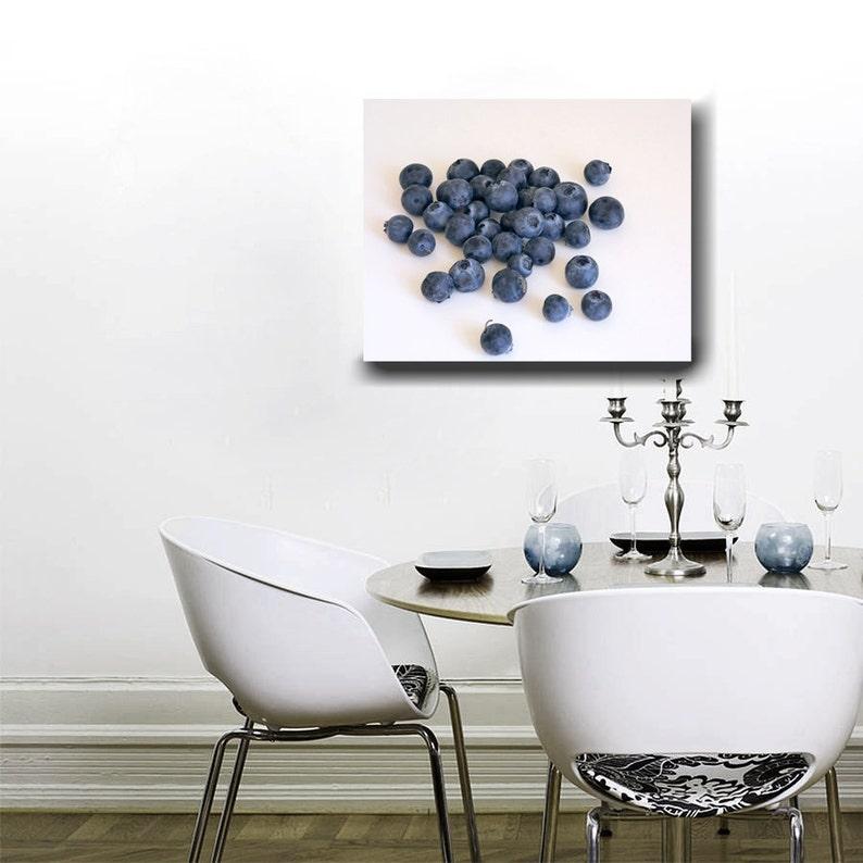 Kitchen Canvas Art Modern Dining Room Decor Fruit Wall Art Etsy