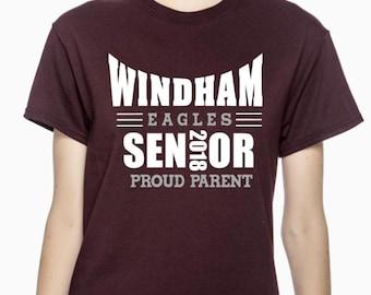 Windham Eagles PROUD Parent Senior 2018