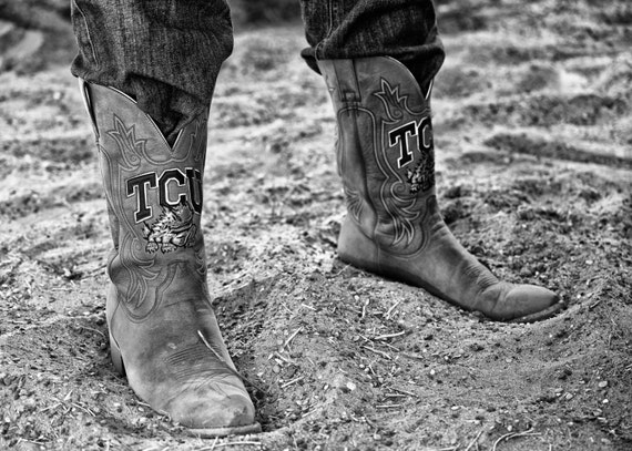 unique design factory authentic another chance TCU Photography Cowboy Boots   Etsy