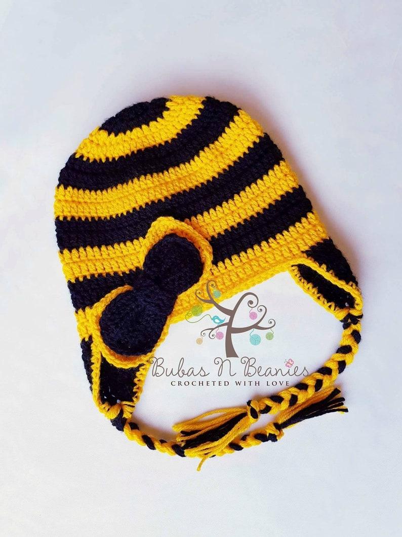 d6a95d688dfd0 Emma Wiggle beanie handmade crochet The Wiggles bowtiful Emma