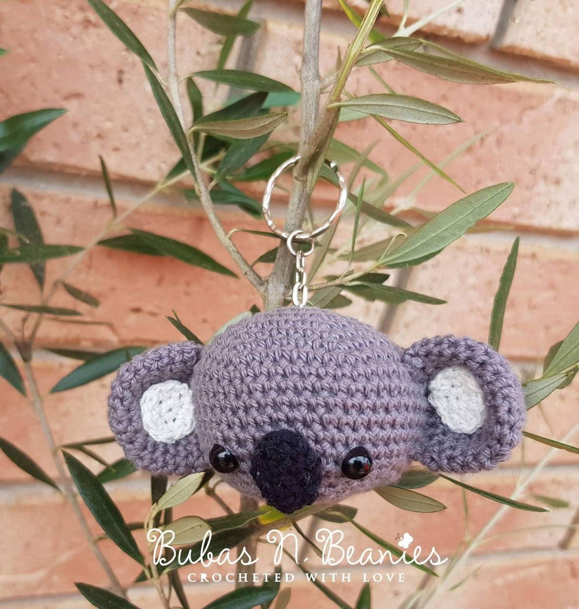 Cute Amigurumi Keychains Free Crochet Patterns | 1249x1187