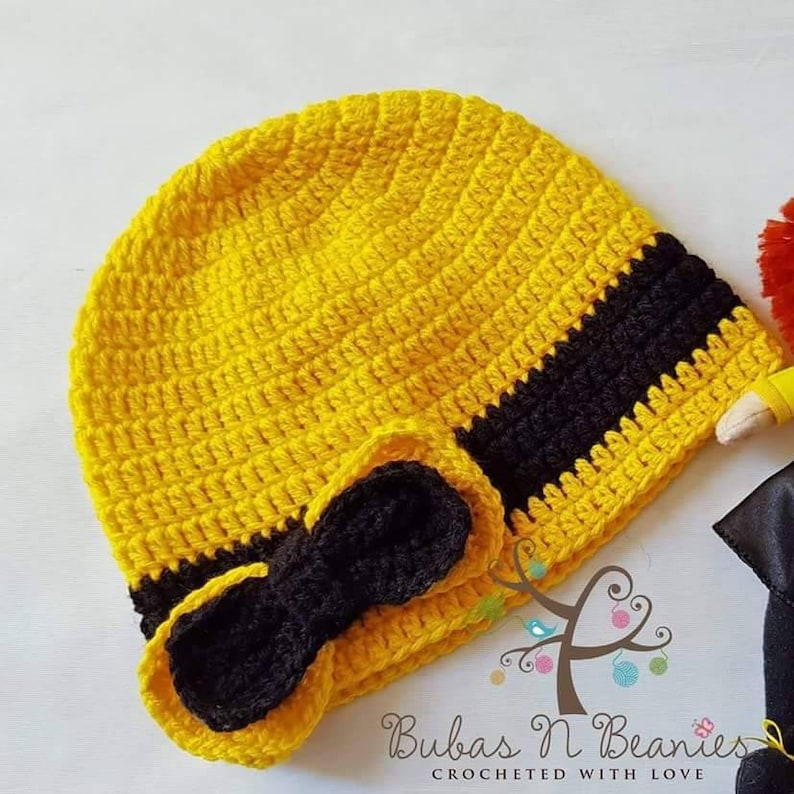 8e1798a2d234e Crochet Emma Wiggle inspired beanie hat The Wiggles handmade