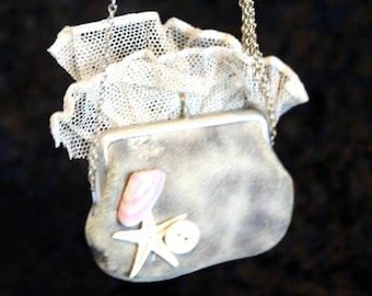 Tiny French Coin Purse