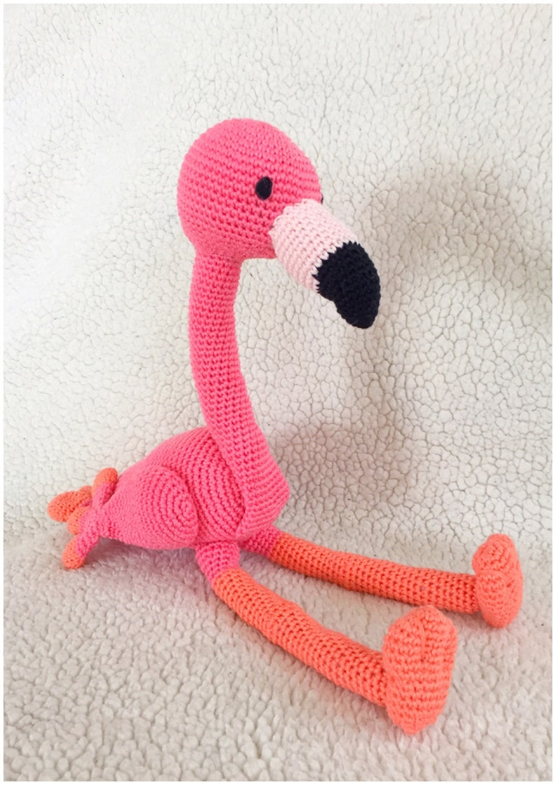 Flamingo Amigurumi Haakpatroon Haak Tutorial Pdf Bestand In Etsy