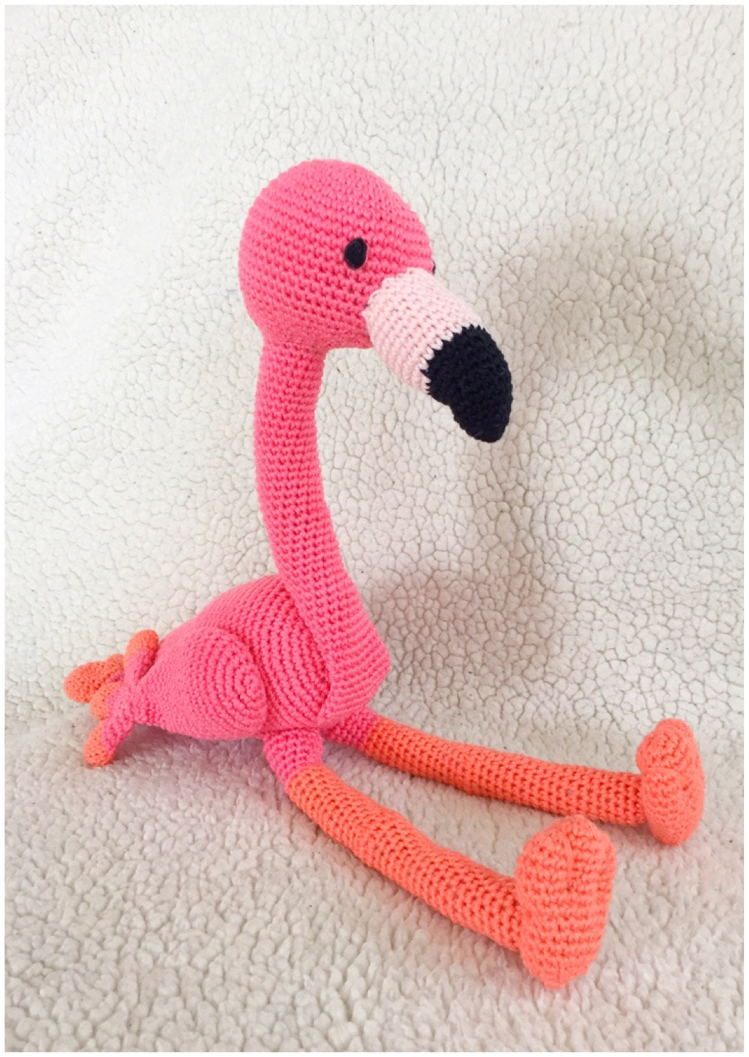 Flamingo Amigurumi Pattern Tutorail Crochet Pattern Pdf Bestand In
