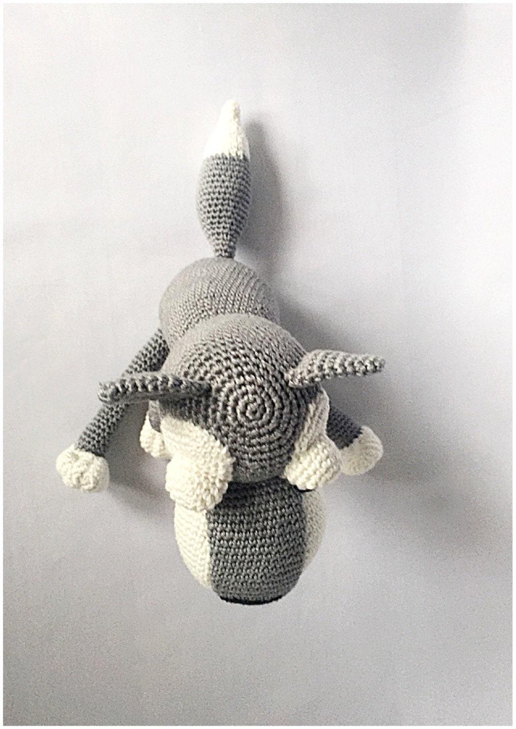 Amigurumi – Wolfgang the wolf - crochet – tutorial   1484x1052