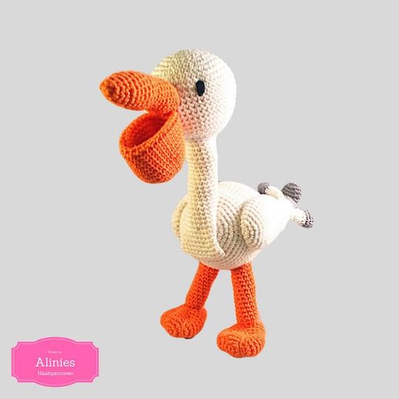 Pelikan häkeln Muster Amigurumi häkeln Tutorial Pdf Datei | Etsy