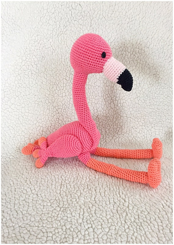 Flamingo Häkeln Muster Amigurumi Häkeln Tutorial Pdf Datei Im Etsy