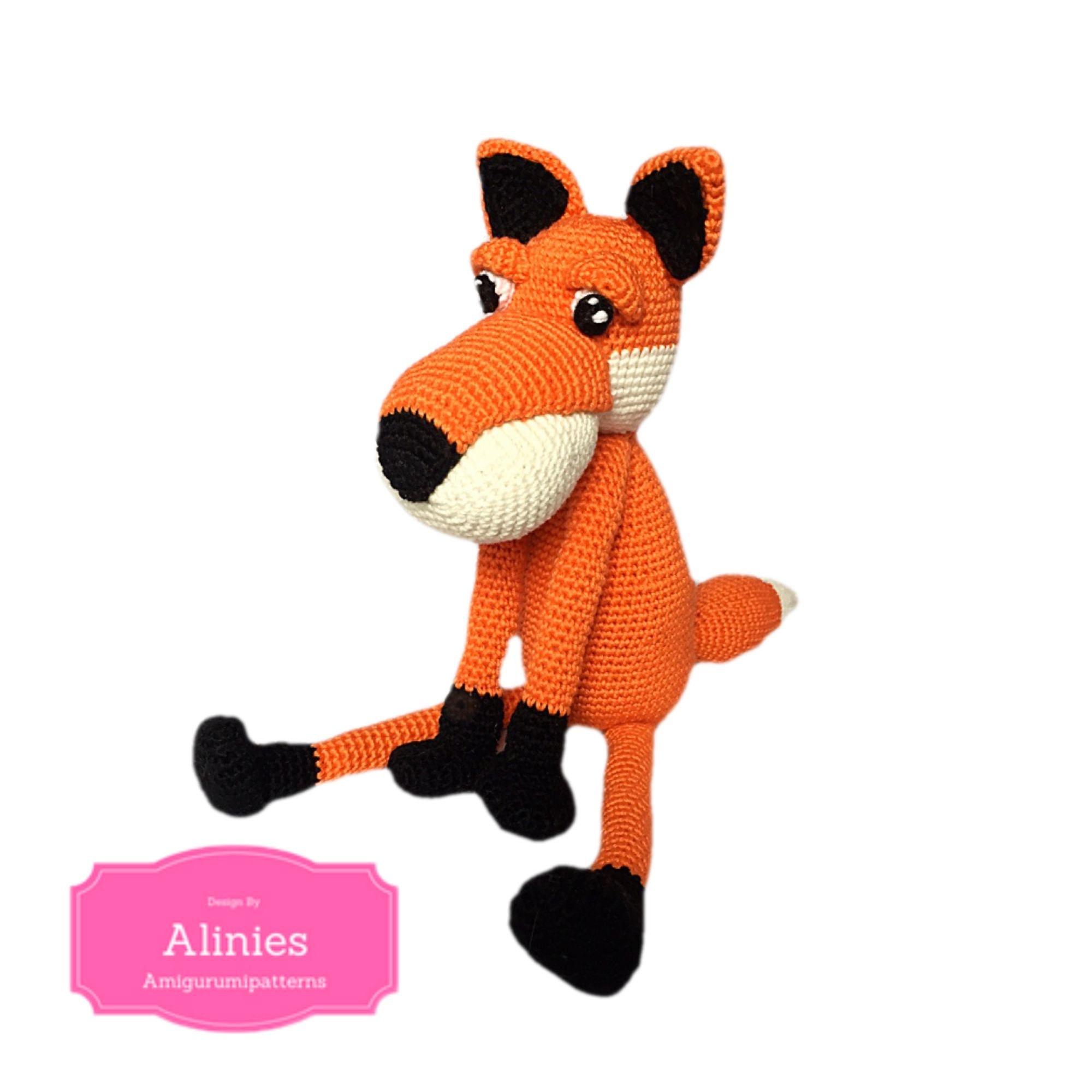 Amigurumi – Felix the fox - crochet – tutorial | 2000x2000