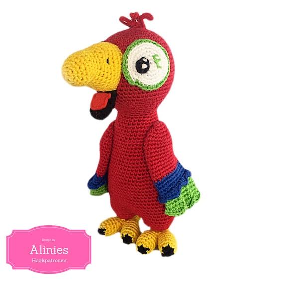 Amigurumi Rot und Grün Ara/Papagei baby dusche haus zimmer ... | 570x570