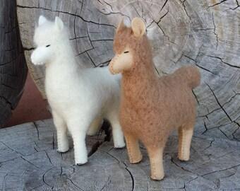 Felt Llama, Alpaca, Felty Alpaca,Llama, ETSY Gift, Llama