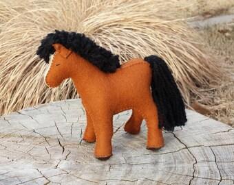 Felt Horse, Felt Animals