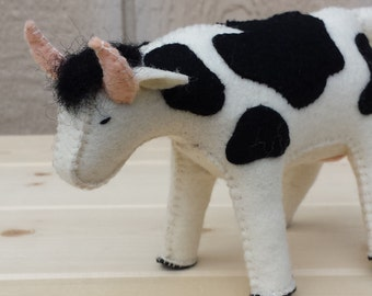 Felt Cow, Cow, ETSY Gift