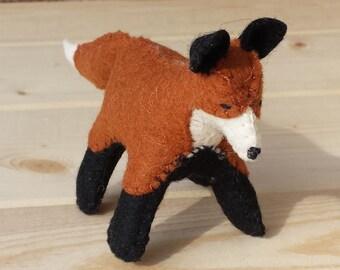 Felt Fox, Fox, Felt Animals