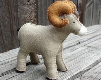Felt Big Horn Sheep, Big Horn sheep