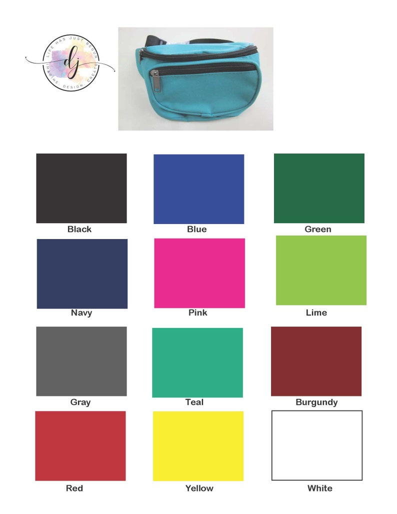 Bridesmaid Gift Personalized Waist Pack 12 Colors Custom  # Fanny Packs Festival Pack Bumbag