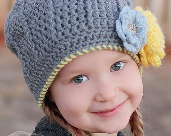 Girl's Slouch hat, Claire Slouch, Crochet Slouchy Hat, Slouchy Beanie, Children's Hat, Crochet Slouchy Beanie, Fall Fashion, Winter Hat