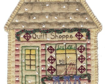 Vintage Ornament Quilt Shoppe