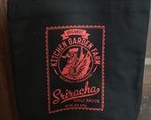 Items Similar To Kitchen Garden Farm Sriracha Tote Bag On Etsy