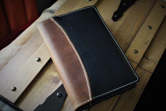 Two-tone Leather Journal / Sketchbook / Book of Shadows / Notepad